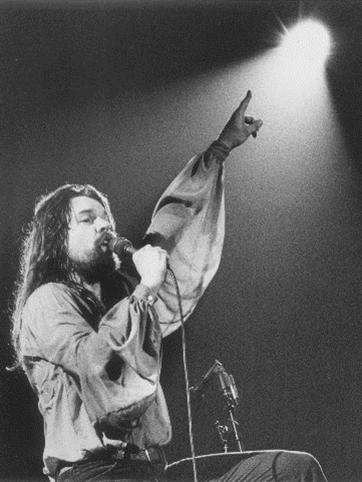 Bob Seger at Cobo Hall on May 24, 1978