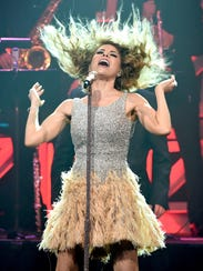 Gloria Trevi performs during the 23rd Annual BMI Latin
