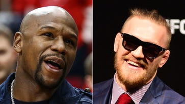 Could Floyd Mayweather and Connor McGregor be facing off after all?