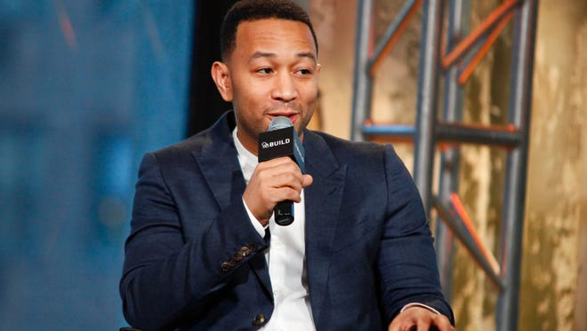 John Legend took to Twitter to tell Donald Trump Jr. what demonstrators at his father's campaign rallies were protesting.