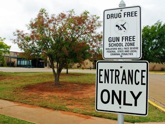 AP FATAL SHOOTING SCHOOL OKLAHOMA A USA OK