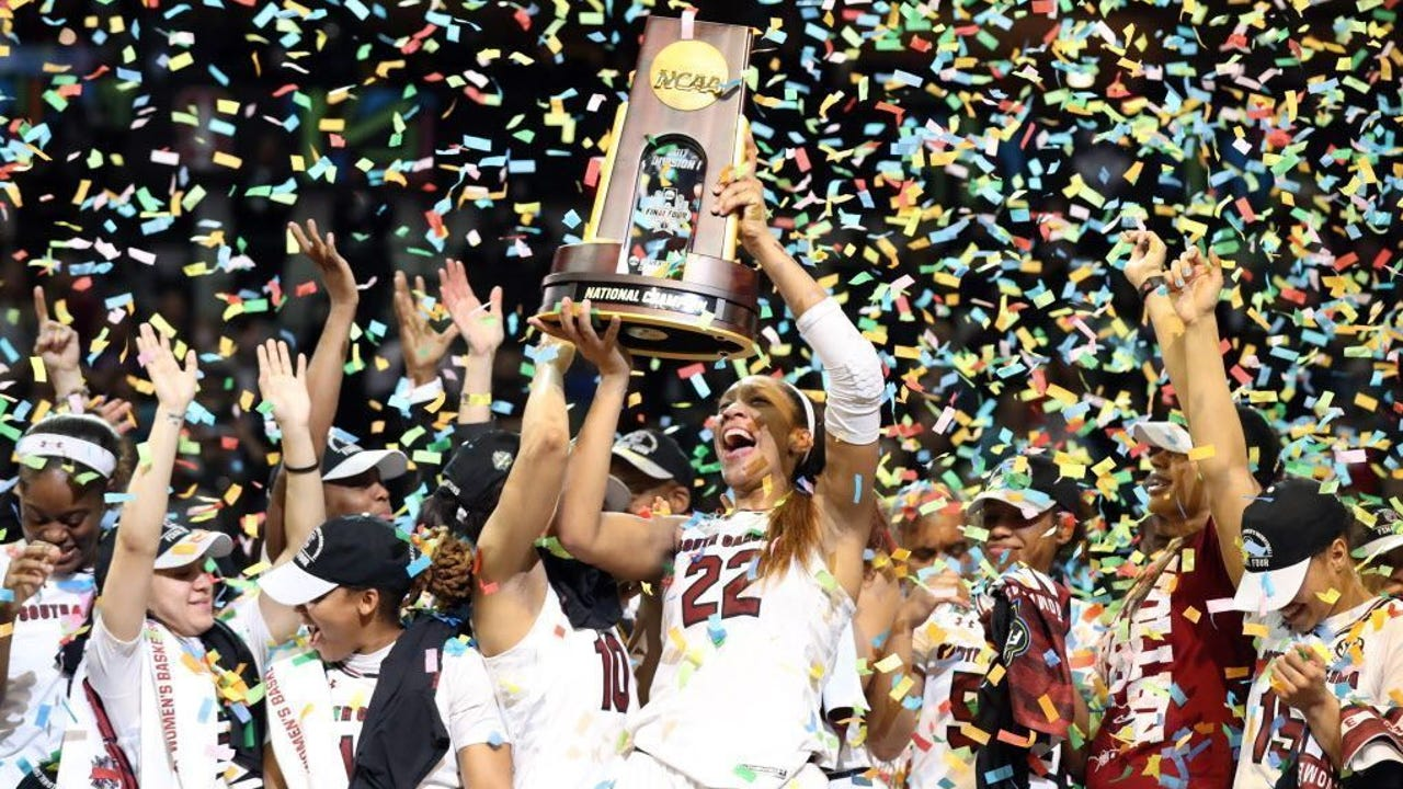USA TODAY Sports' Lindsay H. Jones recaps South Carolina's win over Mississippi State in an all-SEC championship game.