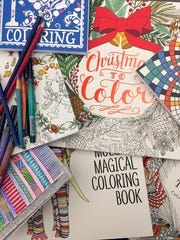 Adult coloring events will take place in Vesper and