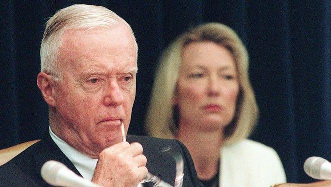 Former U.S. Rep. Amo Houghton