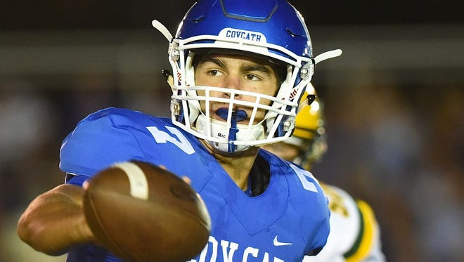 Covington Catholic quarterback A.J. Mayer