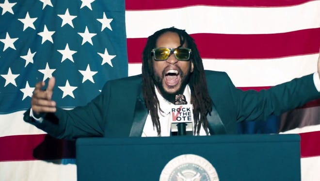 Lil Jon remixes his party anthem 'Turn Down for What' as a pro-voting ad in 'Turn Out for What.'