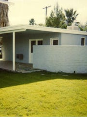 Bel Vista War Housing (1945). Photo by Jeri Vogelsang in 1991.