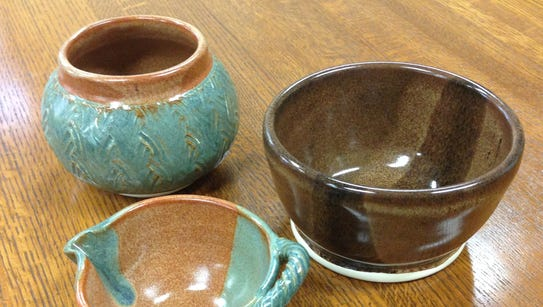 Soup bowls made by a Dover artist will be given away