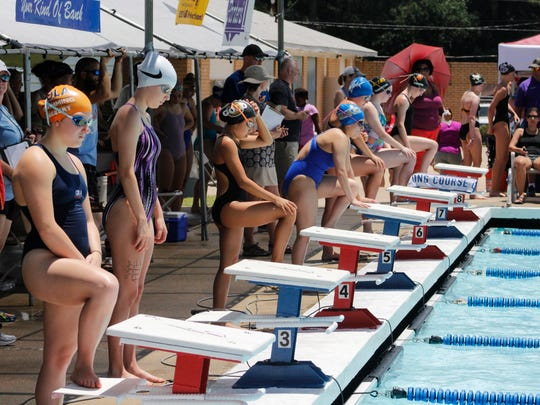 The final day of  Damon McCoy Invitational swimming