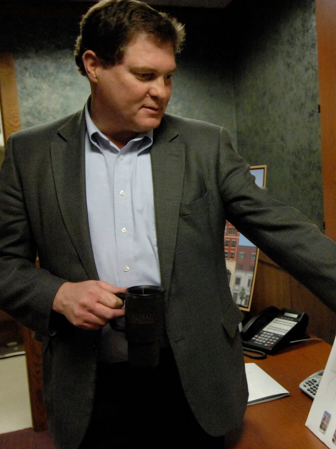 In this 2010 photo, Compass Properties manager Mark