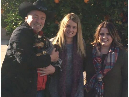 Steve Verschoor, shown with his daughters, Brittany