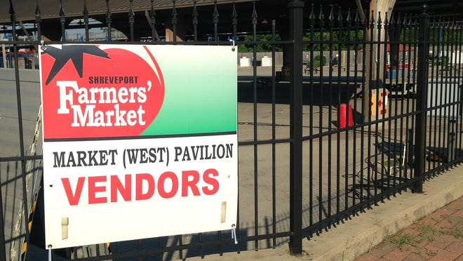Shreveport Farmers' Market and Artists' Market will reopen on Saturday downtown.