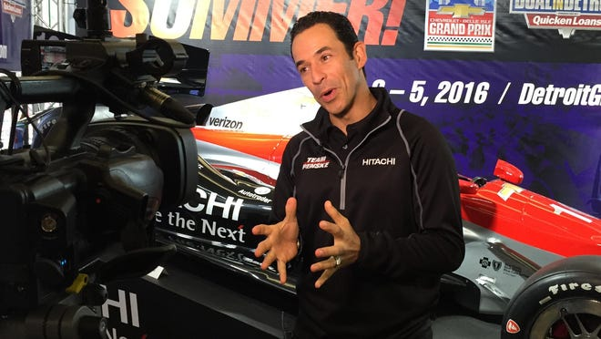 Helio Castroneves has been IndyCar runner-up four times.
