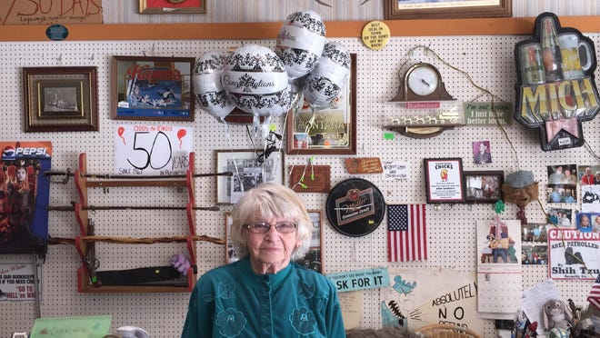 2017 is a year to celebrate for the Odds n Ends Shop, which has been in operation for 50 years. Owner Ann Ramsey turns 80 this year.