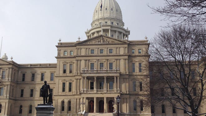 Michigan Senate Republicans laid out their agenda for first 90 days Tuesday, Jan. 27, 2015, in Lansing.