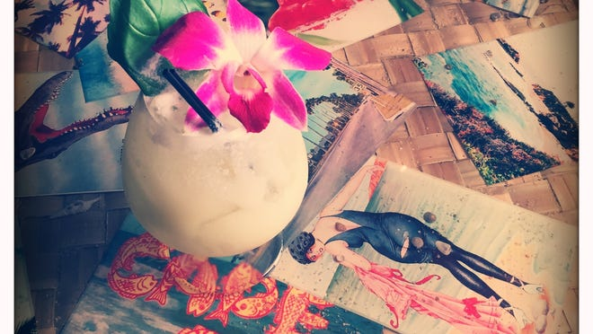 The Pod Thai at Bootlegger Tiki is a light, refreshing drink with hints of basil, coconut and fresh lime juice.