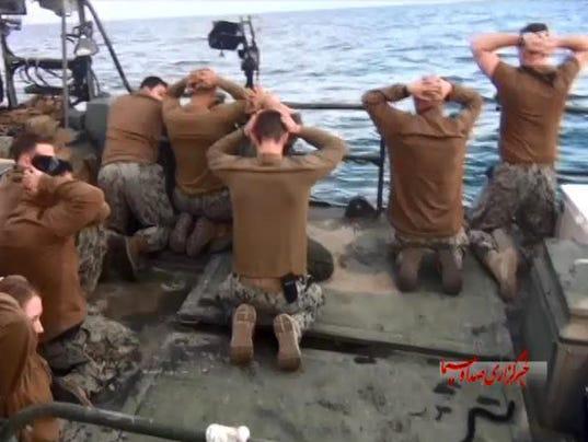 Iran soldier capture