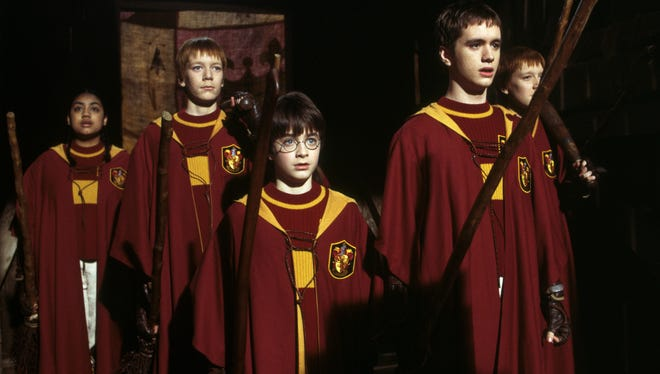 """The Indianapolis Symphony Orchestra will play the score for """"Harry Potter and the Sorcerer's Stone"""" as the movie screens overhead on Sept. 23 and 25, and again on Oct. 27 and 30."""