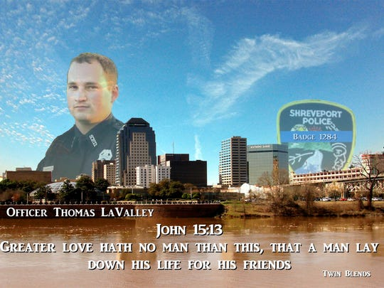 Twin Blends tribute to police officer Thomas LaValley