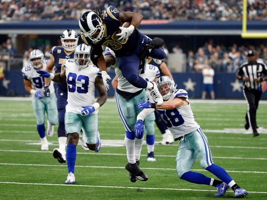 Todd Gurley, Jaylon Smith, Jeff Heath