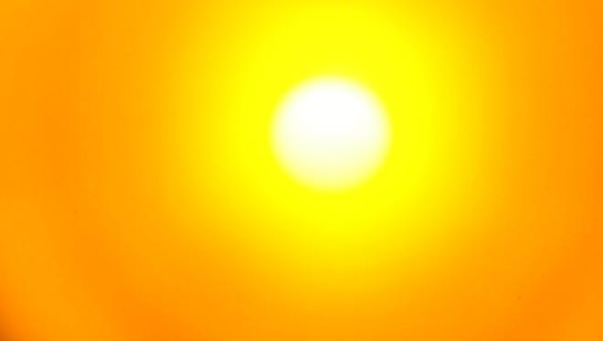 Heat index values will soar past the century mark in Twin Lakes Area on Sunday.