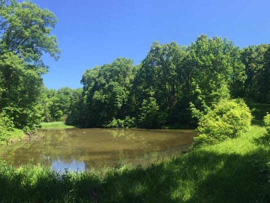 Gunderson Wildlife Area in MArengo is shown  on May