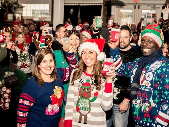 Knoxville food events: Ugly Sweater Bar Crawl, Winter Market