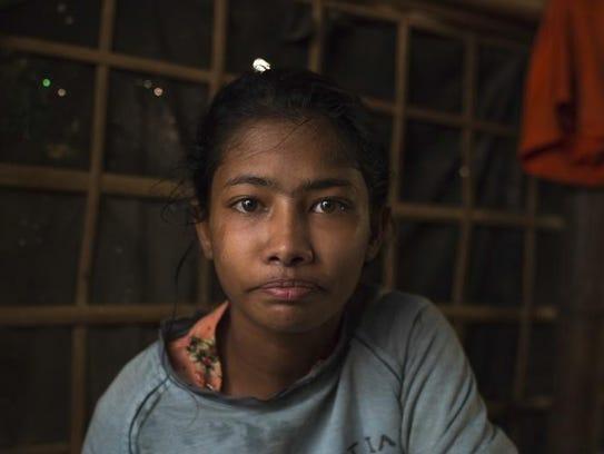 Sethera, a 16-year-old girl.