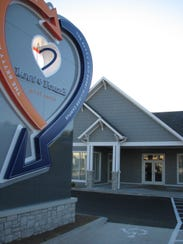 The new facility for the Lost & Found Grief Center