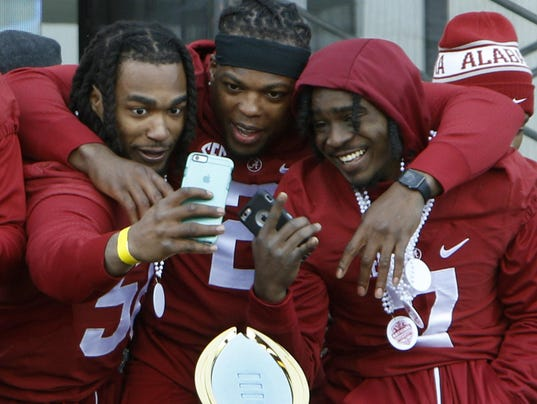 Geno Matias-Smith, Derrick Henry, Tony Brown