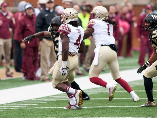 Dalvin Cook rushed for 94 yards before pulling a hamstring