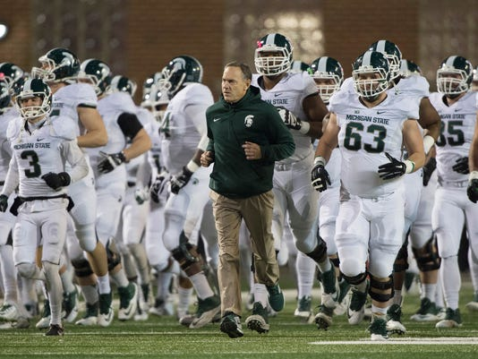 NCAA Football: Michigan State at Maryland