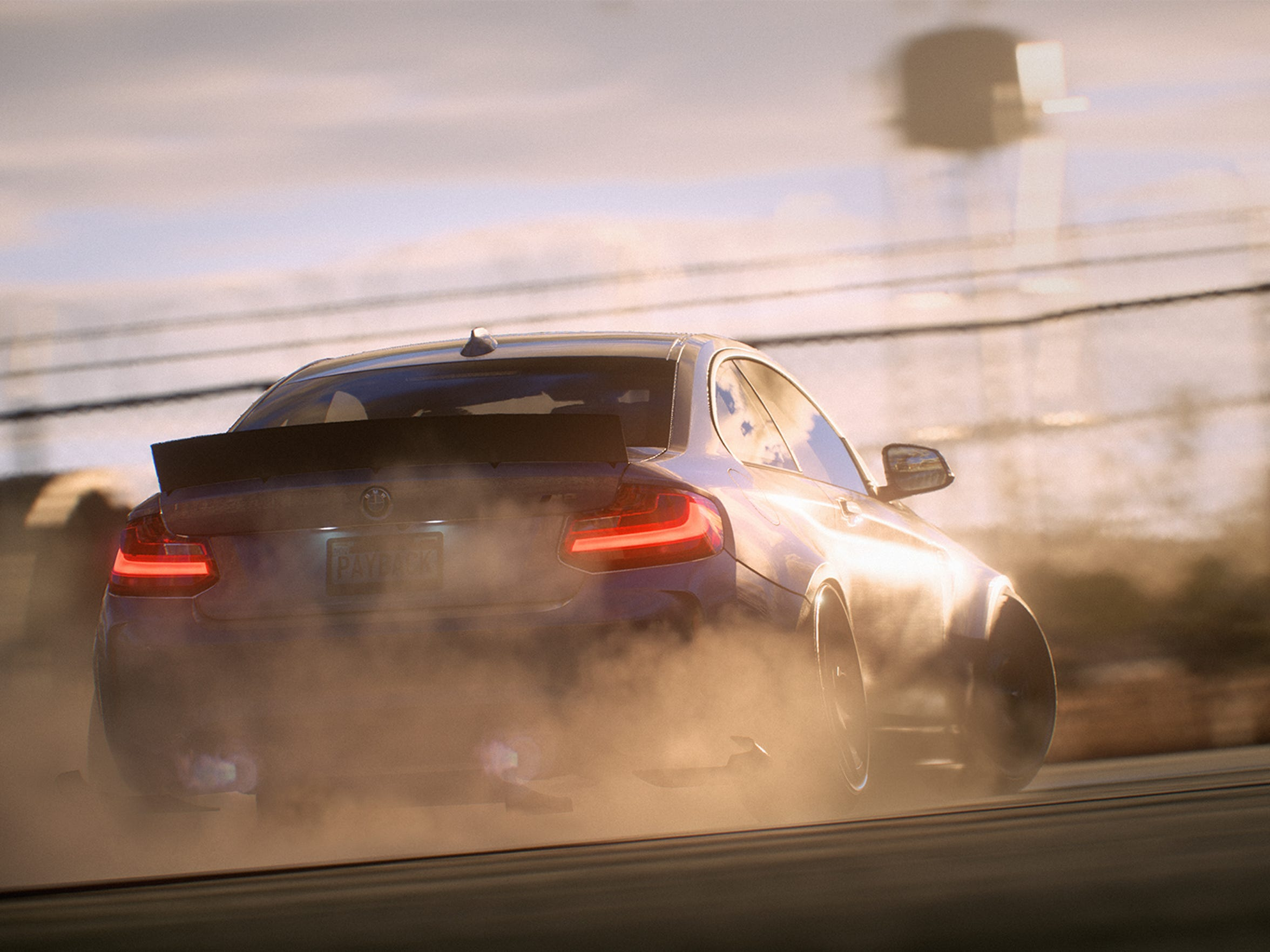 Need for Speed Payback for PC, PS4 and Xbox One.