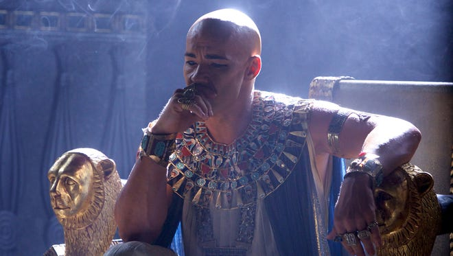 "This image released by 20th Century Fox shows Joel Edgerton in a scene from ""Exodus: Gods and Kings."""
