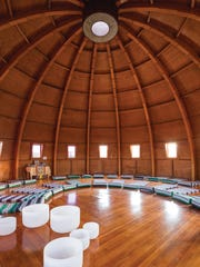 The Integratron interior.