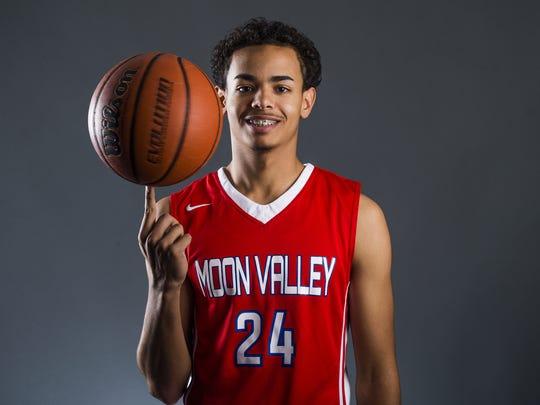 Trevor Thompson, senior basketball player from Phoenix