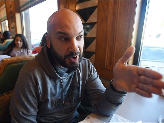 Verej Nazarian of Fair Lawn talks about Gov. Chris