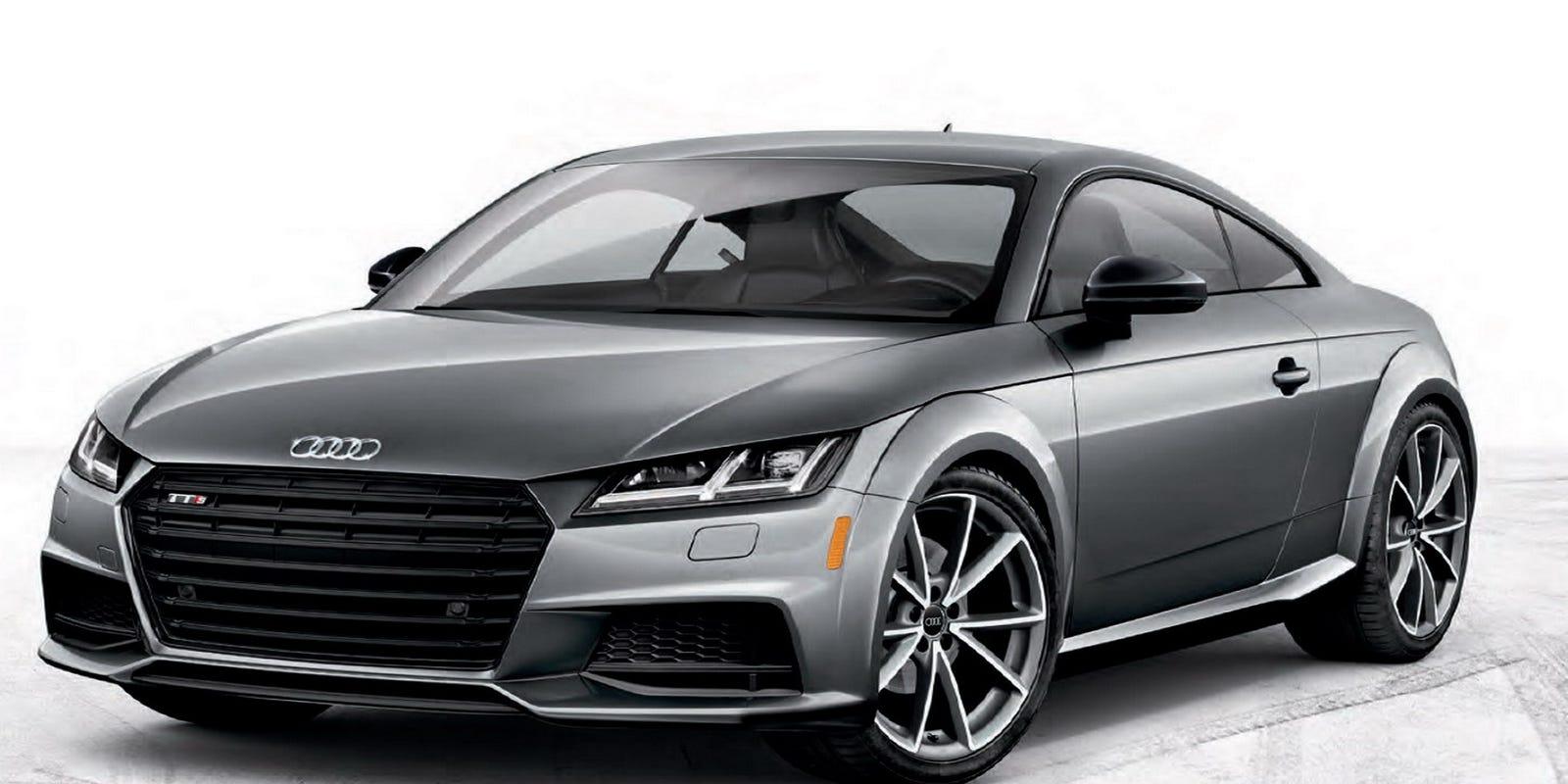 2017 Audi TT coupe defines sports coupe segment