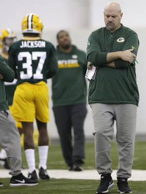 Press-man coverage plays a big role in Packers defensive coordinator Mike Pettine's scheme.