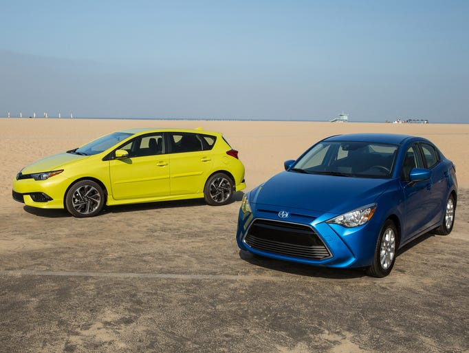 The all-new 2016 Scion iM hatchback and 2016 Scion