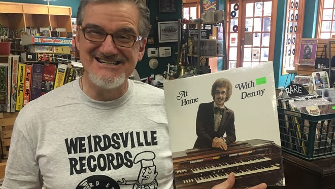 Davey Taylor, owner of Weirdsville Records in Mt. Clemens.