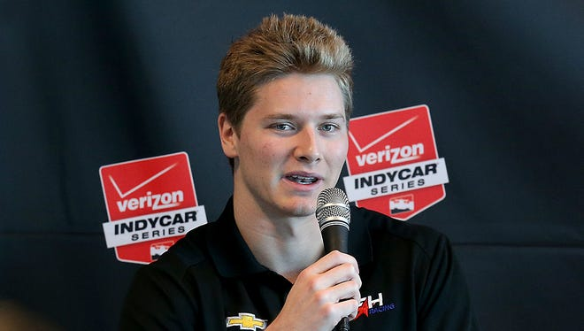 Josef Newgardn figures to take a step forward in standings with merger of two IndyCar teams.