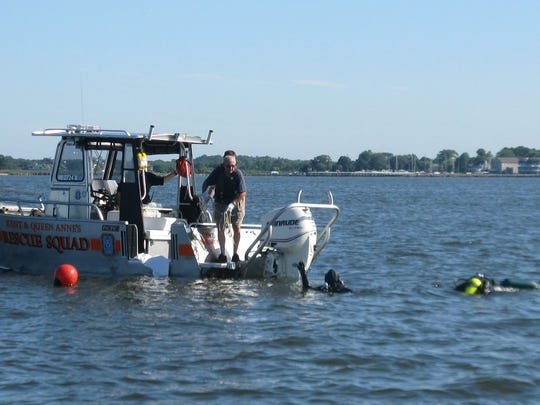 Maryland divers recovered Willis Duckery's body Monday morning near the capsized boat.