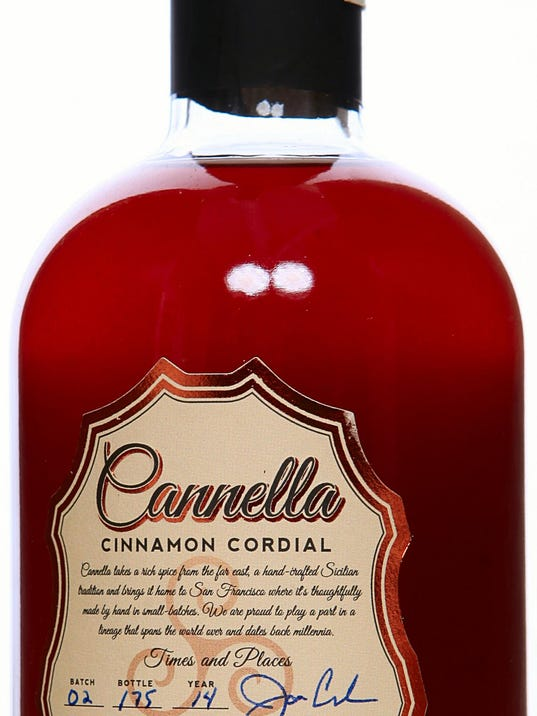 Eating Notes Craft Cinnamon Cordial Makes Great Gift