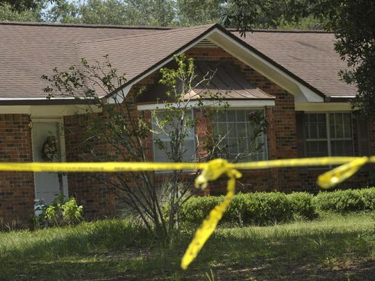 Escambia County Sheriff's Office is investigating a triple homicide after three bodies were found in a home on Deerfield Drive in the Pine Forest area.