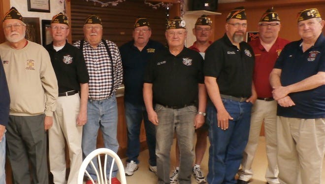 From left to right: David Verhage, Bernard Yelkin, Jim Sachs, Scott Halverson, Frank Raschka, Jim Cline, Don Mugridge, Guy Mockler, Al Tessmann, Ron Stoflet and Joe Cahill.