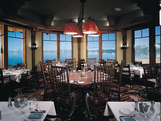 The Lone Eagle Grille at Hyatt Regency Lake Tahoe.