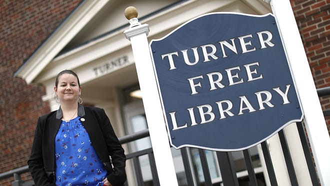 Elizabeth Ann Larosee is the library director of the Turner Free Library in Randolph. Greg Derr/The Patriot Ledger