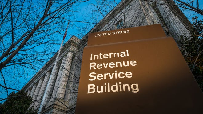 The the headquarters of the Internal Revenue Service (IRS) in Washington DC.