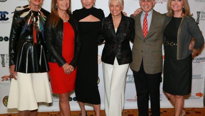 Donna MacMillan Jane Seymour, Mary McDonnell, Joyce Bulifant, Mitch Blumberg and Elaine Church